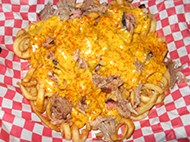 BBQ Cheese Fries